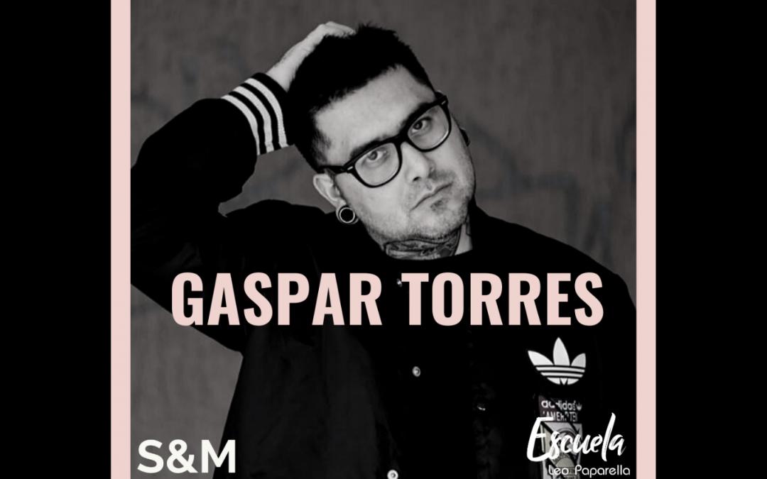 ¡Bienvenido Gaspar Torres!